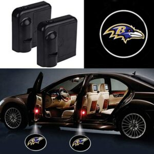 Baltimore Ravens Car Door Projector