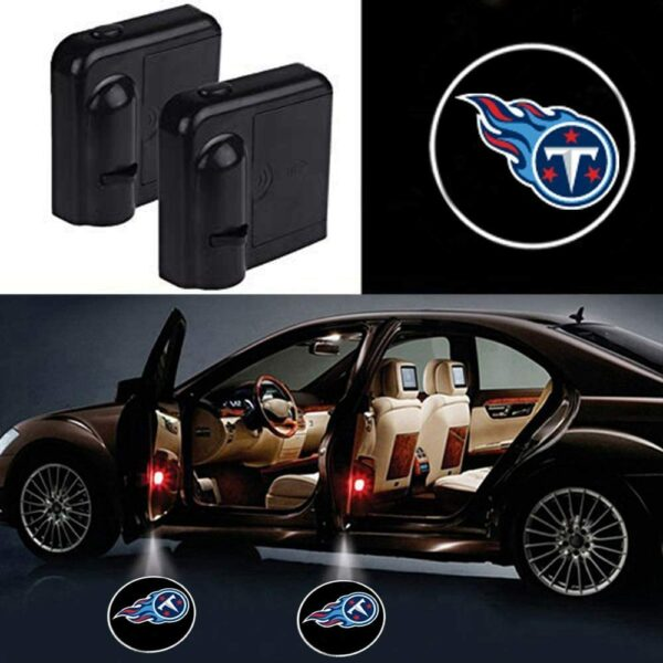 Tennessee Titans Car Door Lights