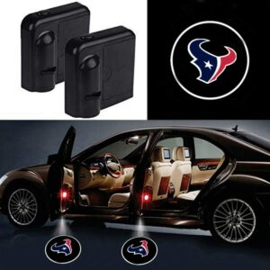 Houston Texans Car Door Lights