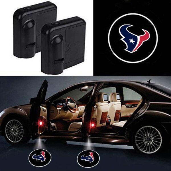 Houston Texans Car Door Lights