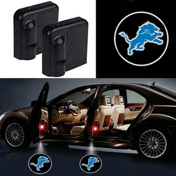 Detroit Lions Car Door Lights