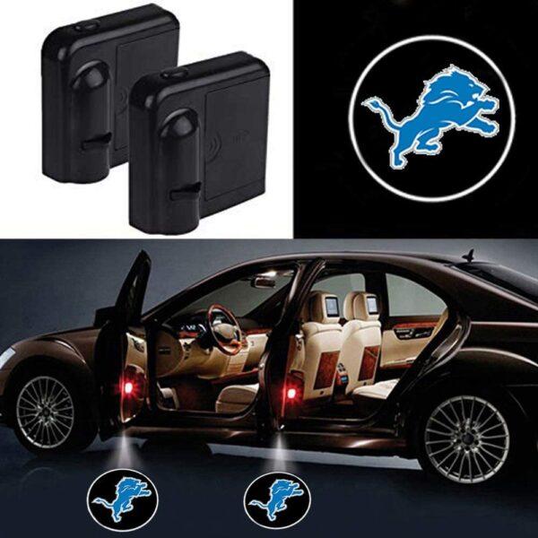 Detroit Lions Car Door Lights
