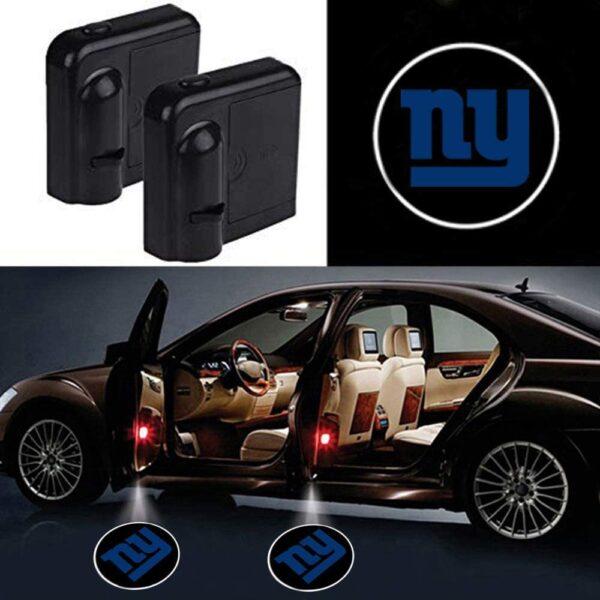 New York Giants Car Door Lights