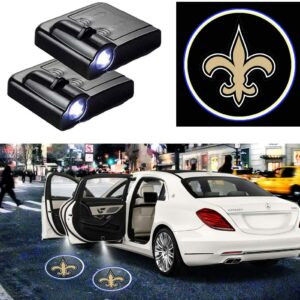 New Orleans Saints Car Door Projector Lights