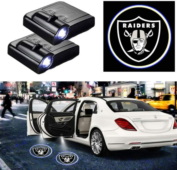 Oakland Raiders Logo Lights