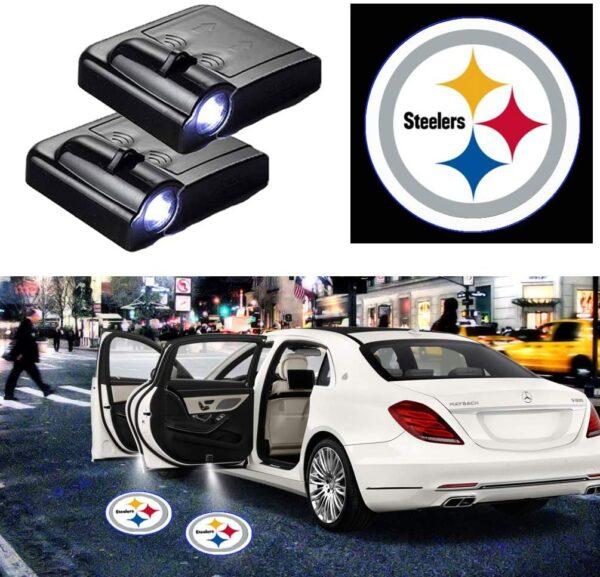 Pittsburgh Steelers Door Lights