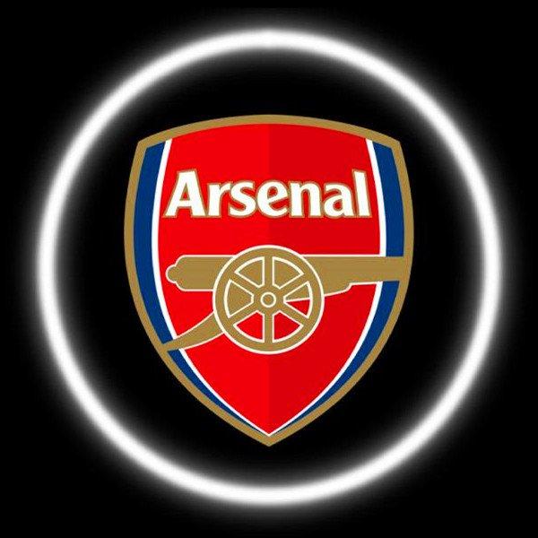 Arsenal Car Door Projector Lights
