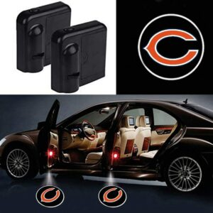 Chicago Bears logo lights