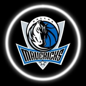 Dallas Mavericks Car Door Projector