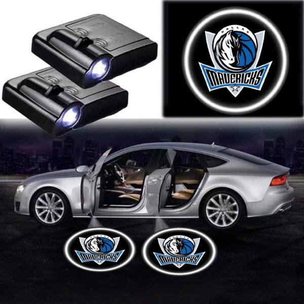 Dallas Mavericks Logo Lights