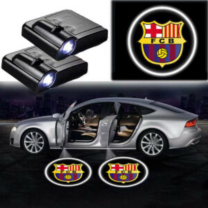 Barcelona logo lights
