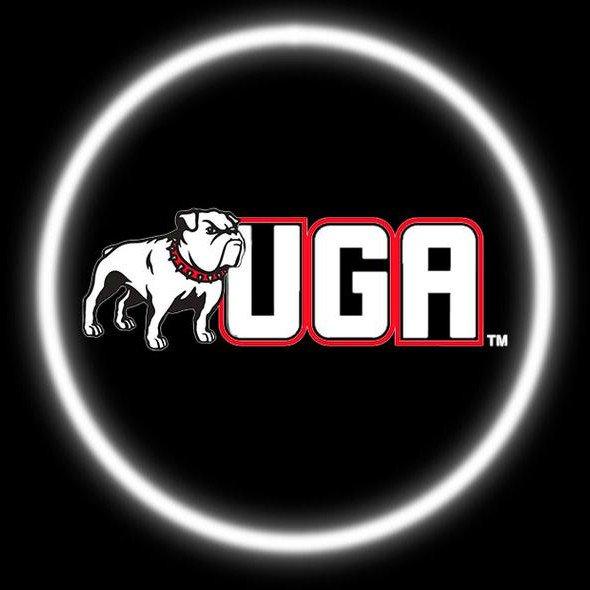 Georgia Bulldogs Car Door Projector Light