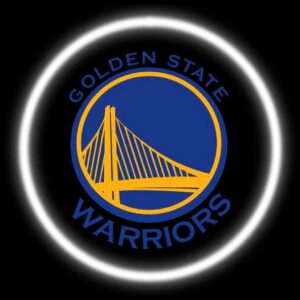 Golden State Warriors Car Door Lights