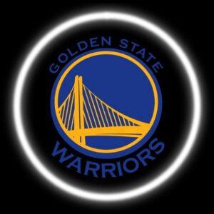 Golden State Warriors Car Door Lights
