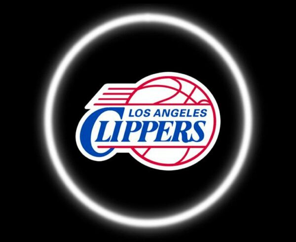 Los Angeles Clippers Car Door Lights