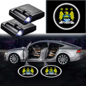 Manchester City Logo Lights
