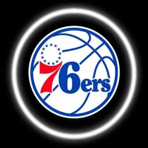Philadelphia 76ers Car Door Projector