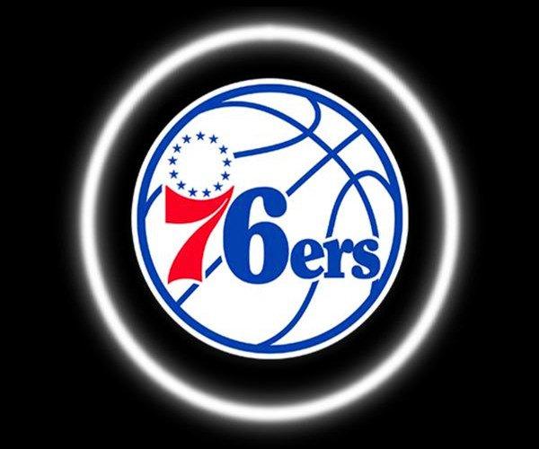 Philadelphia 76ers Car Door Projector