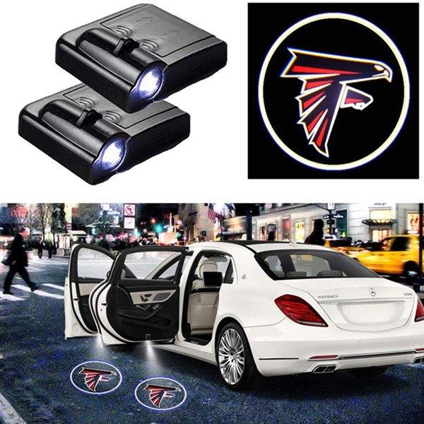 Falcons Car Door Logo Projector Light