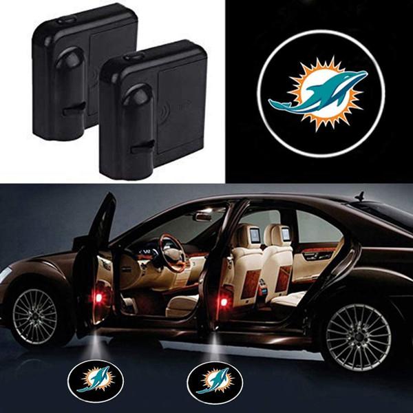 Miami Dolphins Car Door Lights