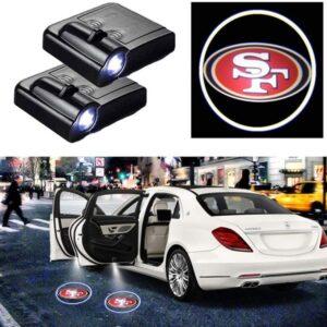 NFL San Francisco 49ers Car Door Logo Projector Light
