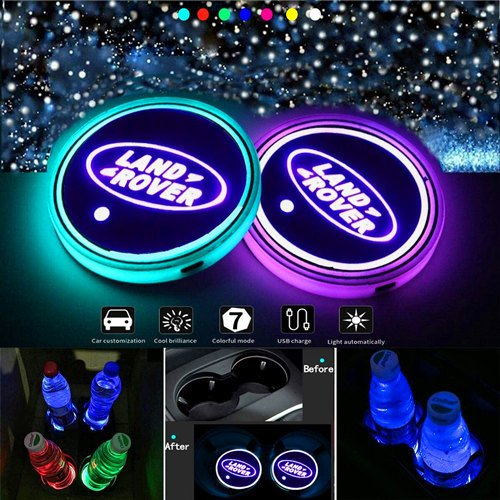 Range Rover LED Cup Holder Lights
