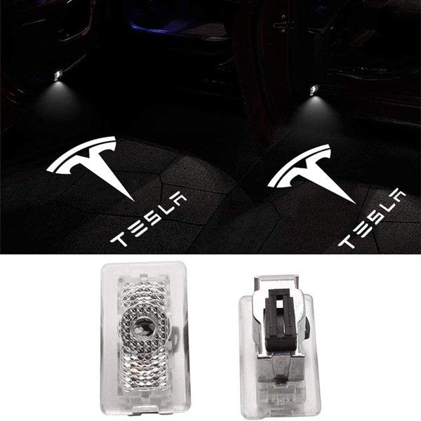 Tesla Door Lights