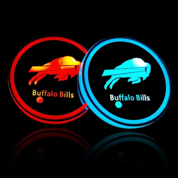 Buffalo Bills Cup Holder Lights