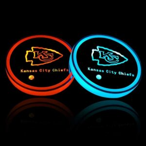 Kansas City Chiefs Cup Holder Lights