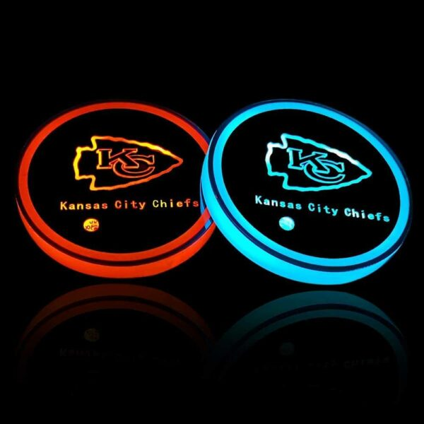 Kansas City Chiefs Cup Holder Lights