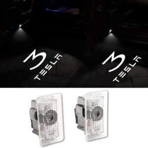 Tesla Model 3 puddle light