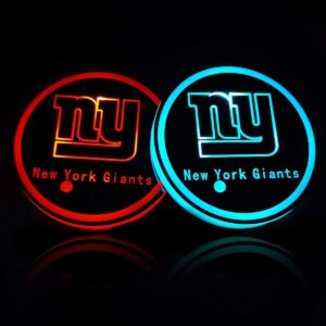 New York Giants Cup Holder Lights
