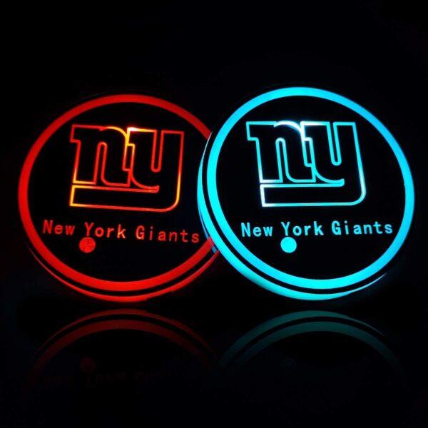 New York Giants Cup Holder Lights