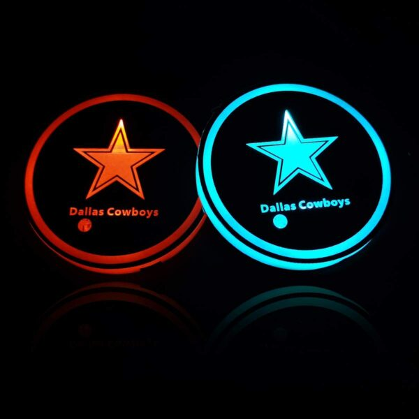 Dallas Cowboys Cup Holder Lights
