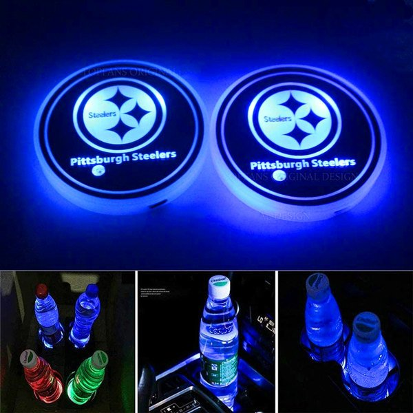 Pittsburgh Steelers Cup Holder Lights
