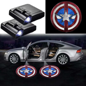 Captain America Logo Lights