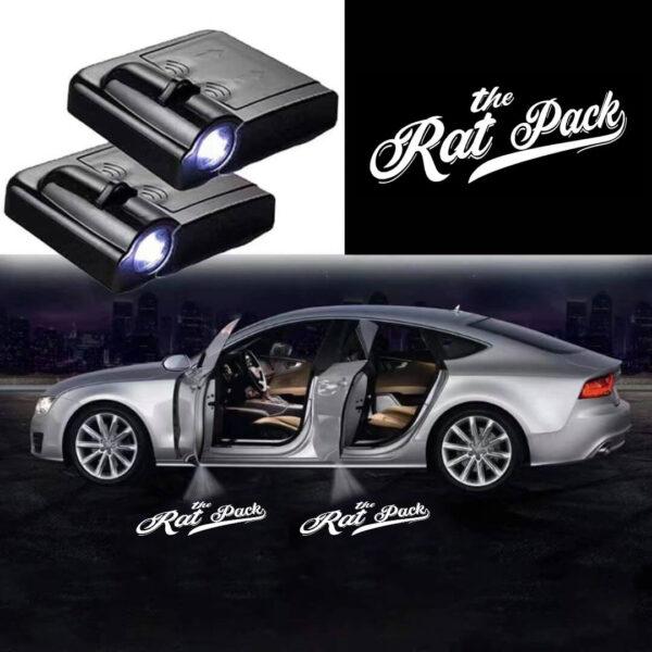 The Rat Pack Logo Lights