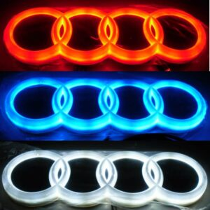 Audi Logo Badge Tail LED Light