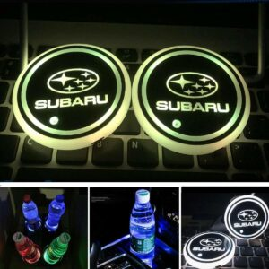 2X LED Subaru Cup Holder Lights