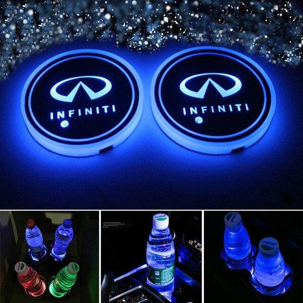 Infiniti Cup Holder Lights