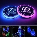 Lexus Cup Holder Lights