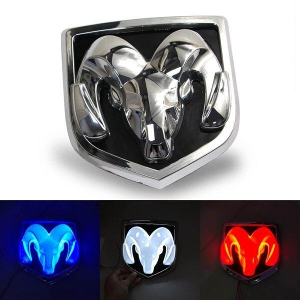 LED Dodge Emblem