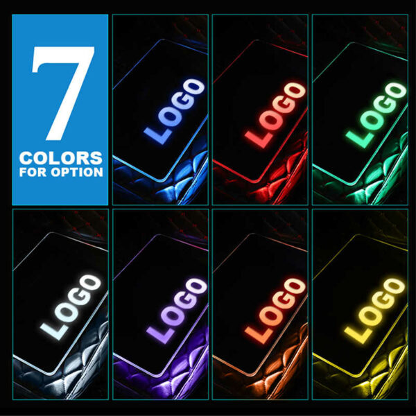 AOONUAUTO Stainless Steel LED Car Floor Mat For ASTON MARTIN Atmosphere With RF Remote Control Car.jpg q50 2