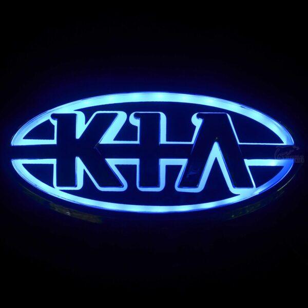 New Car Styling 5D Rear Badge Bulb Emblem Logo Light For KIA K5 Sorento Soul Forte 2