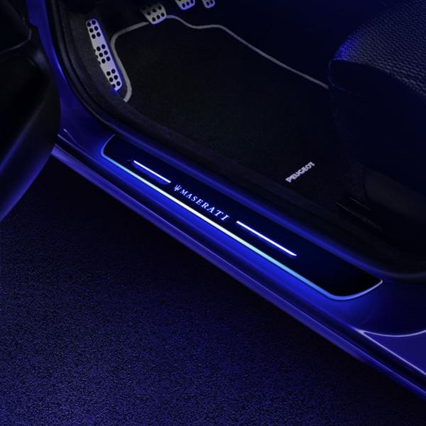 Maserati LED door sill
