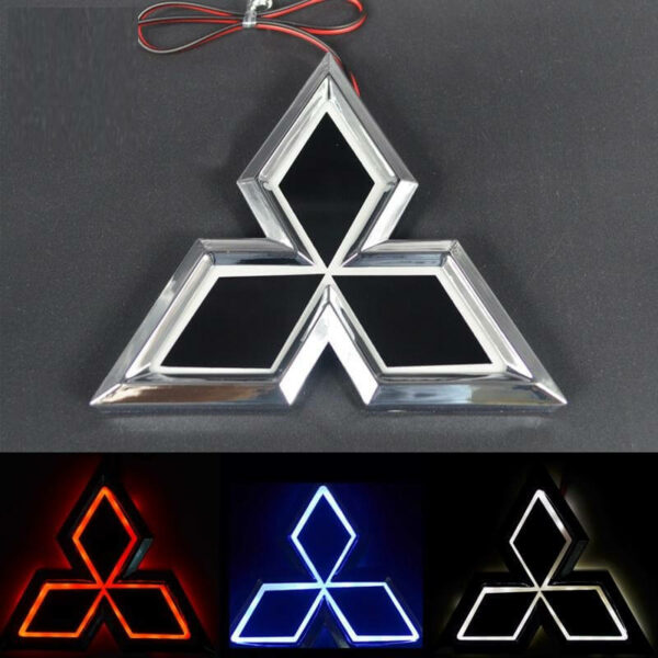 LED Mitsubishi Emblem