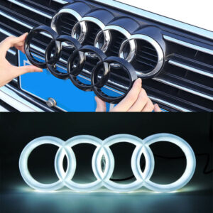 Light Up Audi Emblem