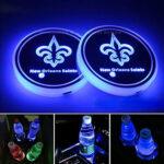 Saints Logo Cup Holder Lights