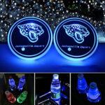 Jacksonville Jaguars Logo Cup Holder Lights