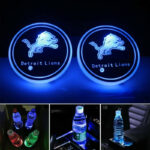 Detroit Lions Logo Cup Holder Lights